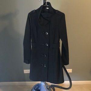 Classic Black Pea Coat